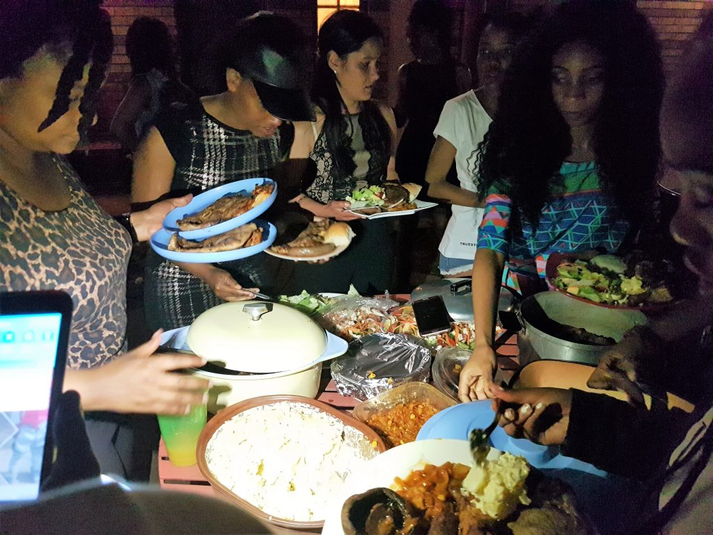 Residents' feast - Bloemfontein