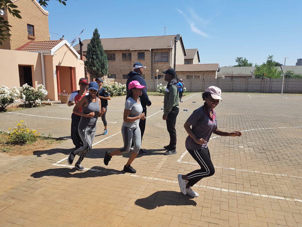 Training boot camp - Bloemfontein